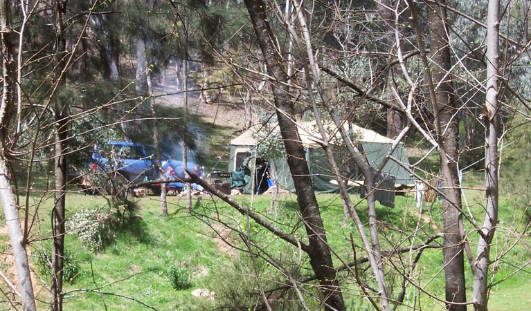 Abercrombie Caves campground - Stayed