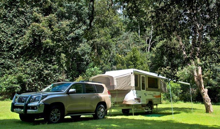 Gloucester River campground - Stayed