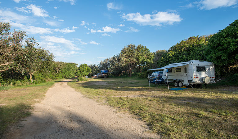 Racecourse Campground - Stayed