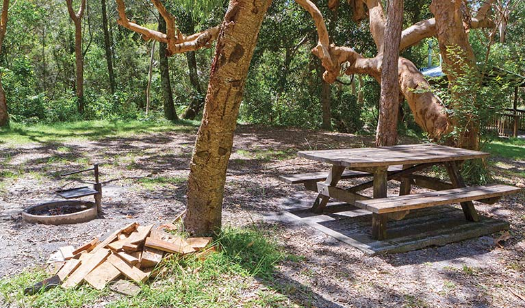 Station Creek campground - Stayed
