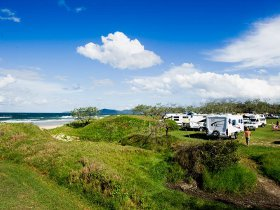 Noosa North Shore Beach Campground - Stayed
