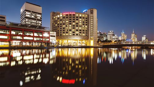 Crowne Plaza Melbourne - Stayed