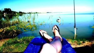 Lake Albert Caravan Park - Stayed