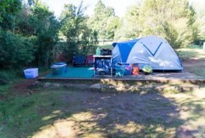 Lamington National Park Camping Ground - Stayed