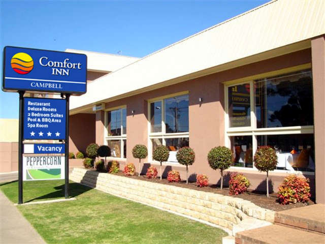 Comfort Inn Campbell - Stayed