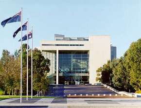 High Court of Australia Parkes Place - Stayed