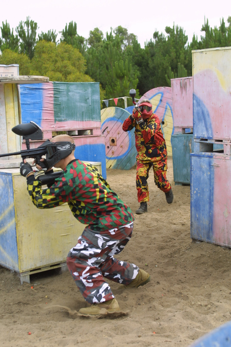 Paintball Skirmish Perth - Stayed