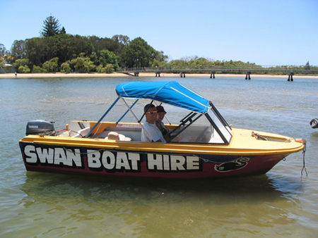 Swan Boat Hire - Stayed