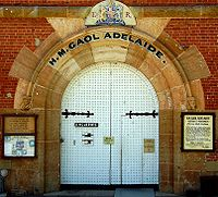 Adelaide Gaol - Stayed
