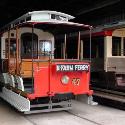 Brisbane Tramway Museum - Stayed