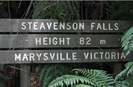 Stevensons Falls - Stayed