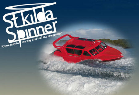 St Kilda Spinner Jet Boat Rides - Stayed