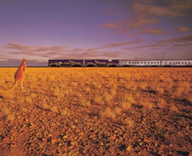 Nullarbor Plain - Stayed