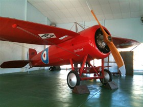 Captain Harry Butler Red Devil Monoplane Memorial - Stayed