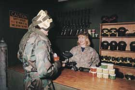 Indoor Skirmish - Paintball Sports - Stayed