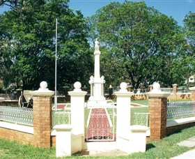 Boonah War Memorial and Memorial Park - Stayed