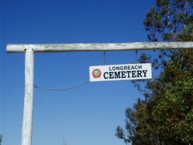 Longreach Cemetery - Stayed