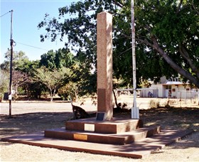 Mount Isa Memorial Cenotaph - Stayed