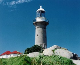 Montague Island Lighthouse - Stayed