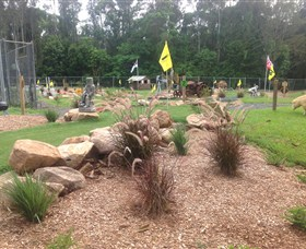 The Cove Miniature Golf Course - Stayed