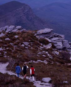 Bluff Knoll Stirling Range National Park - Stayed