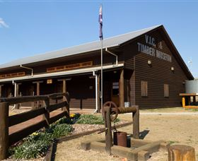 South Burnett Region Timber Industry Museum - Stayed