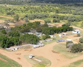 Blackall Saleyards - Stayed