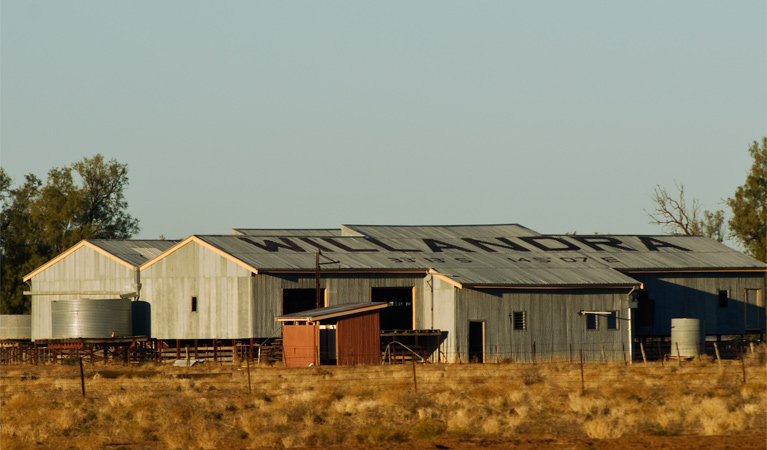 Willandra shearing precinct - Stayed