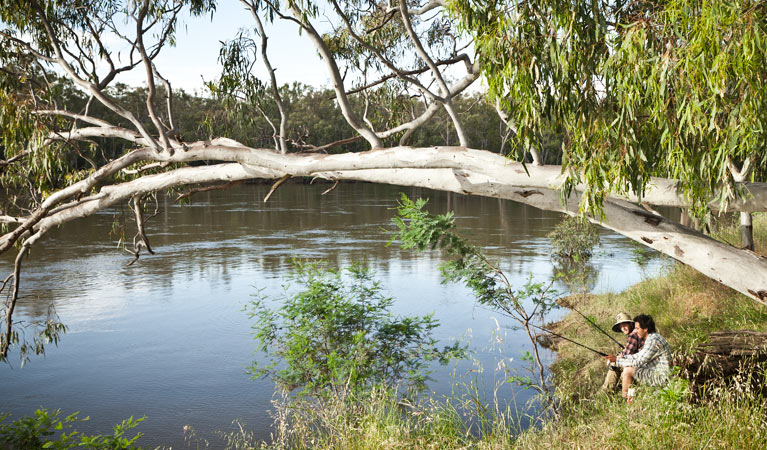 Murray Valley National Park - Stayed