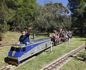 Willans Hill Miniature Railway - Stayed