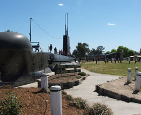 Holbrook Submarine Museum - Stayed