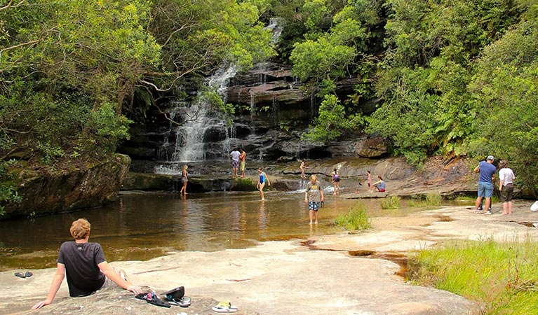 Somersby Falls picnic area - Stayed