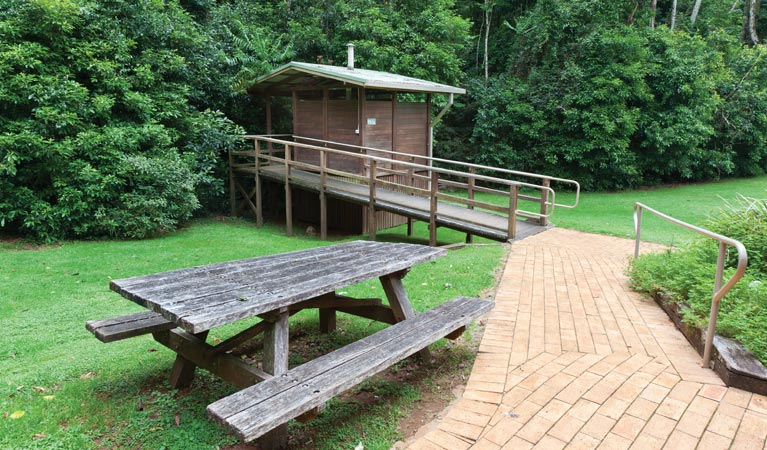 The Glade picnic area - Stayed
