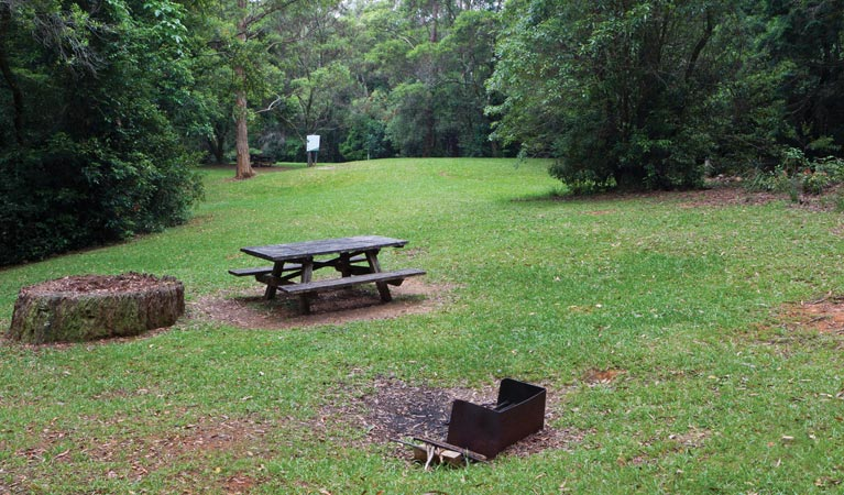 Never Never picnic area - Stayed