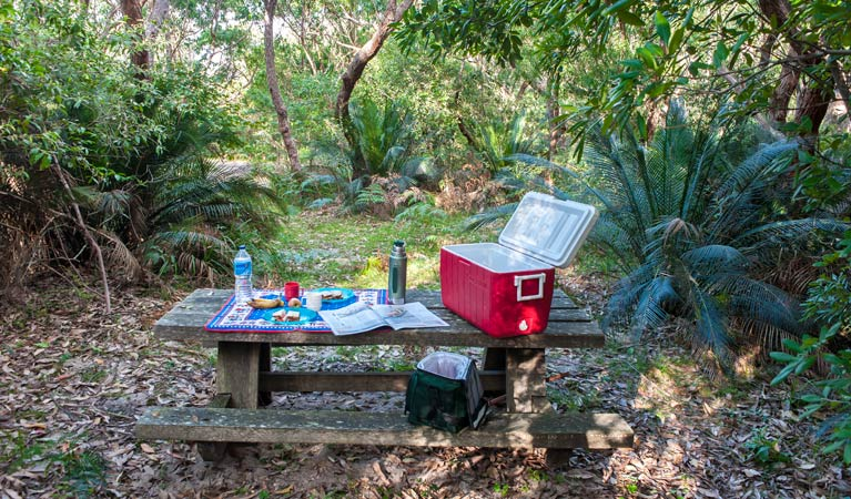 Broadwater Beach picnic area - Stayed