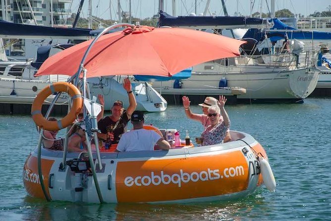 Self-Drive BBQ Boat Hire Mandurah - Group of 7 - 10 people - Stayed