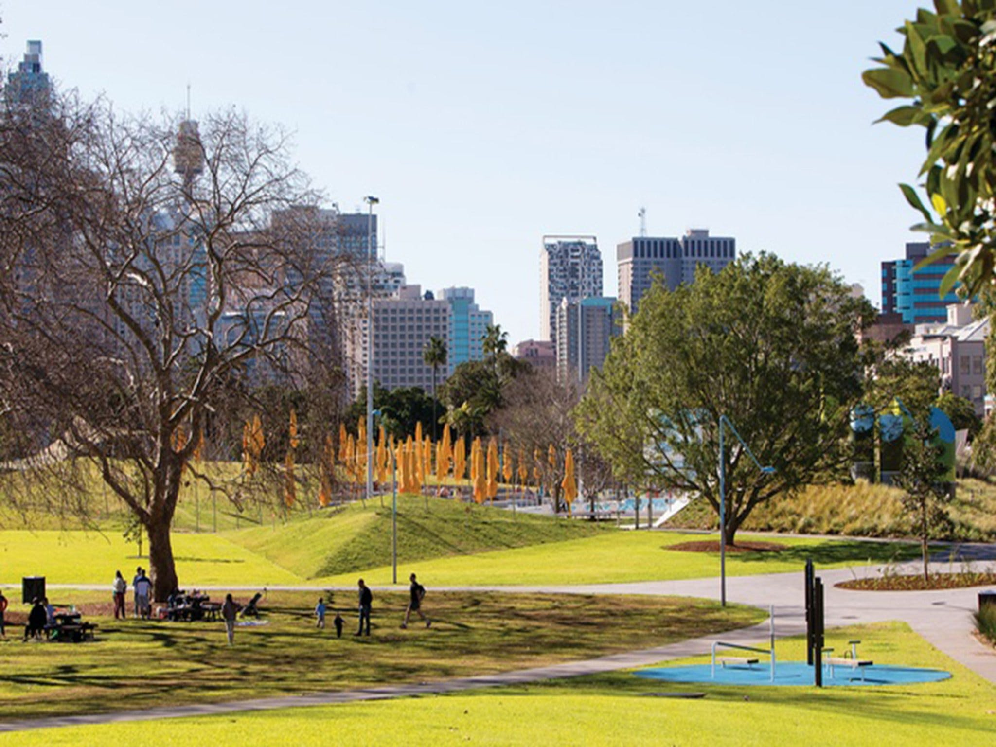 Prince Alfred Park - Stayed