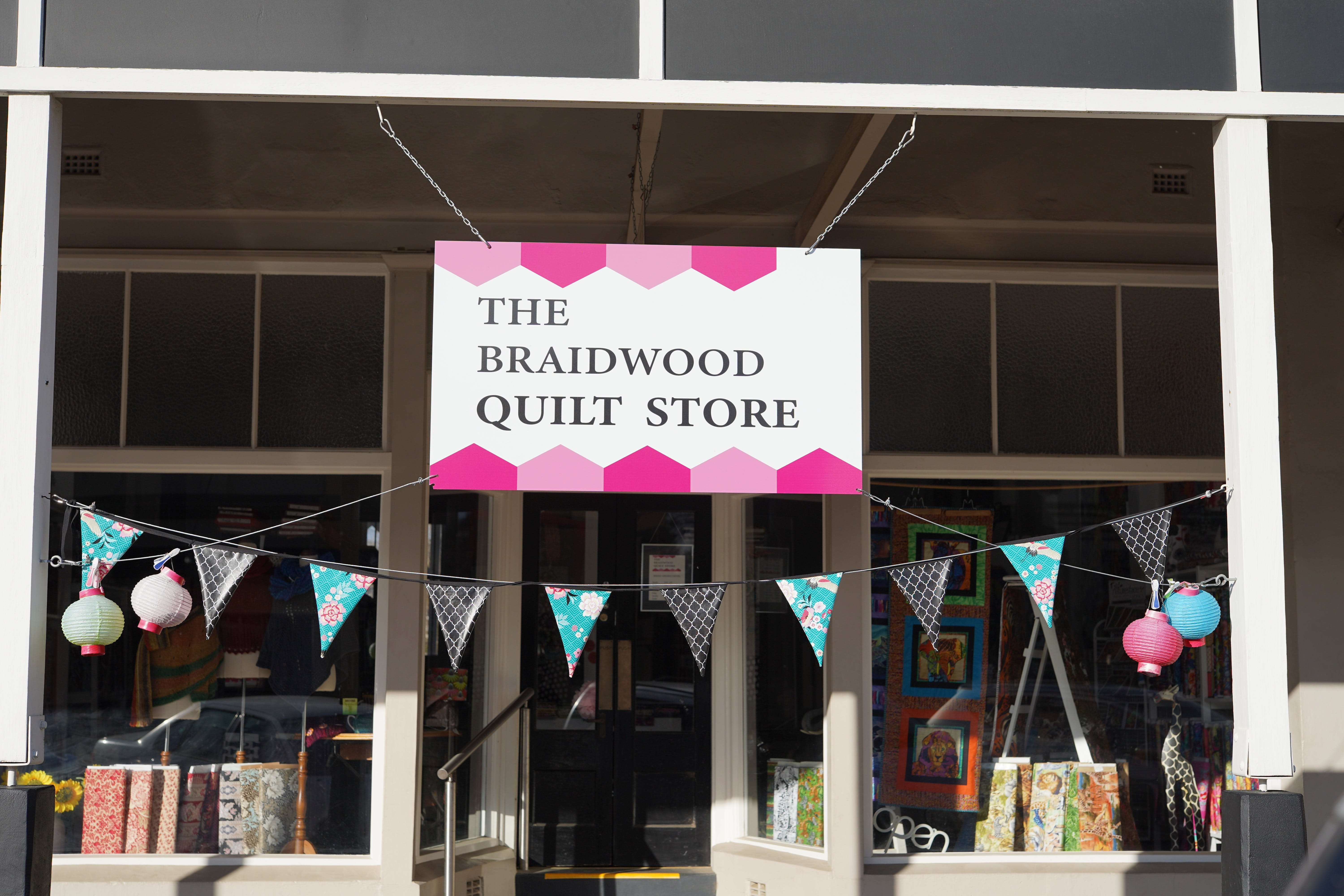 The Braidwood Quilt Store - Stayed