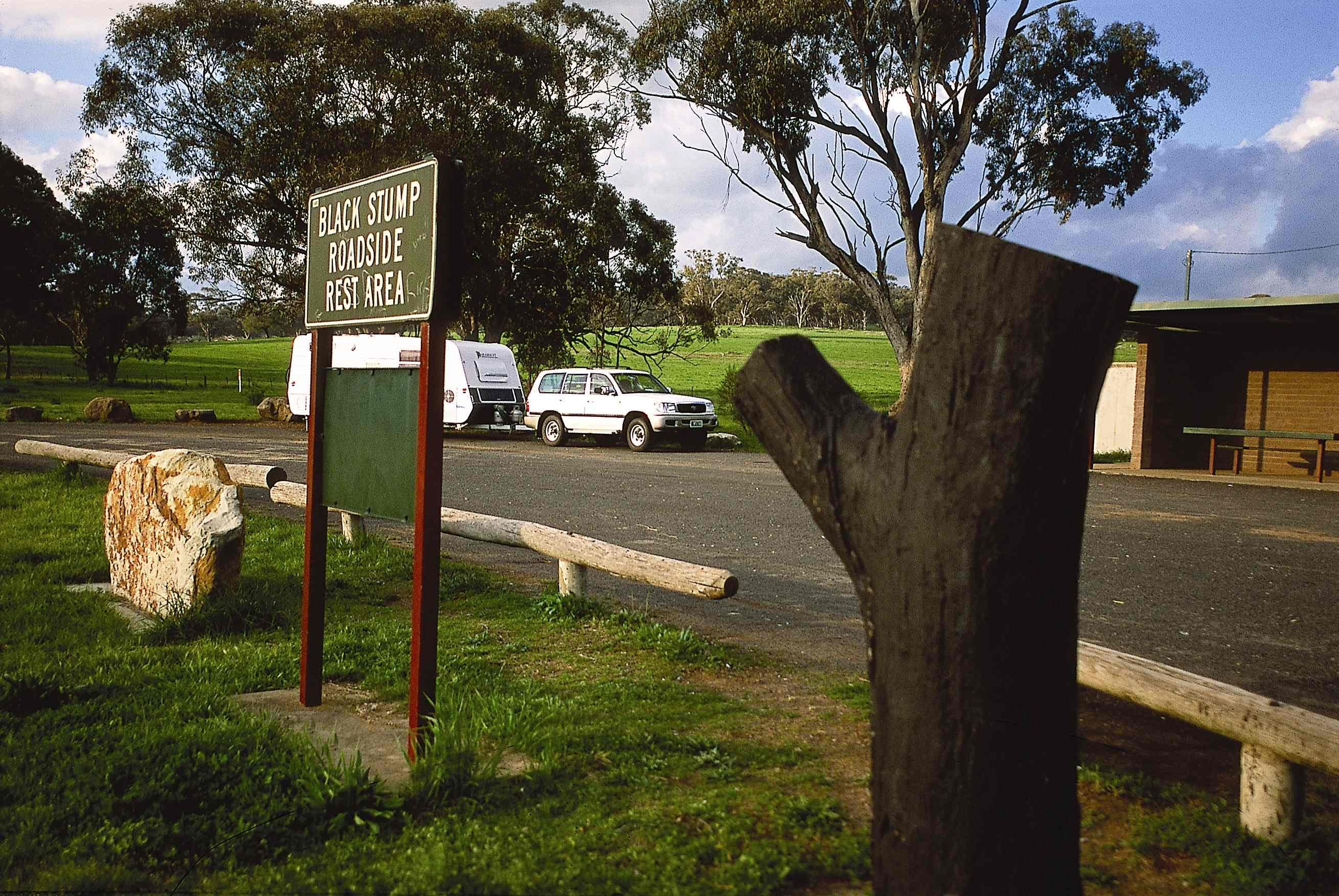 Black Stump Rest Area - Stayed