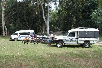 Cape York Motorcycle Adventures - Stayed