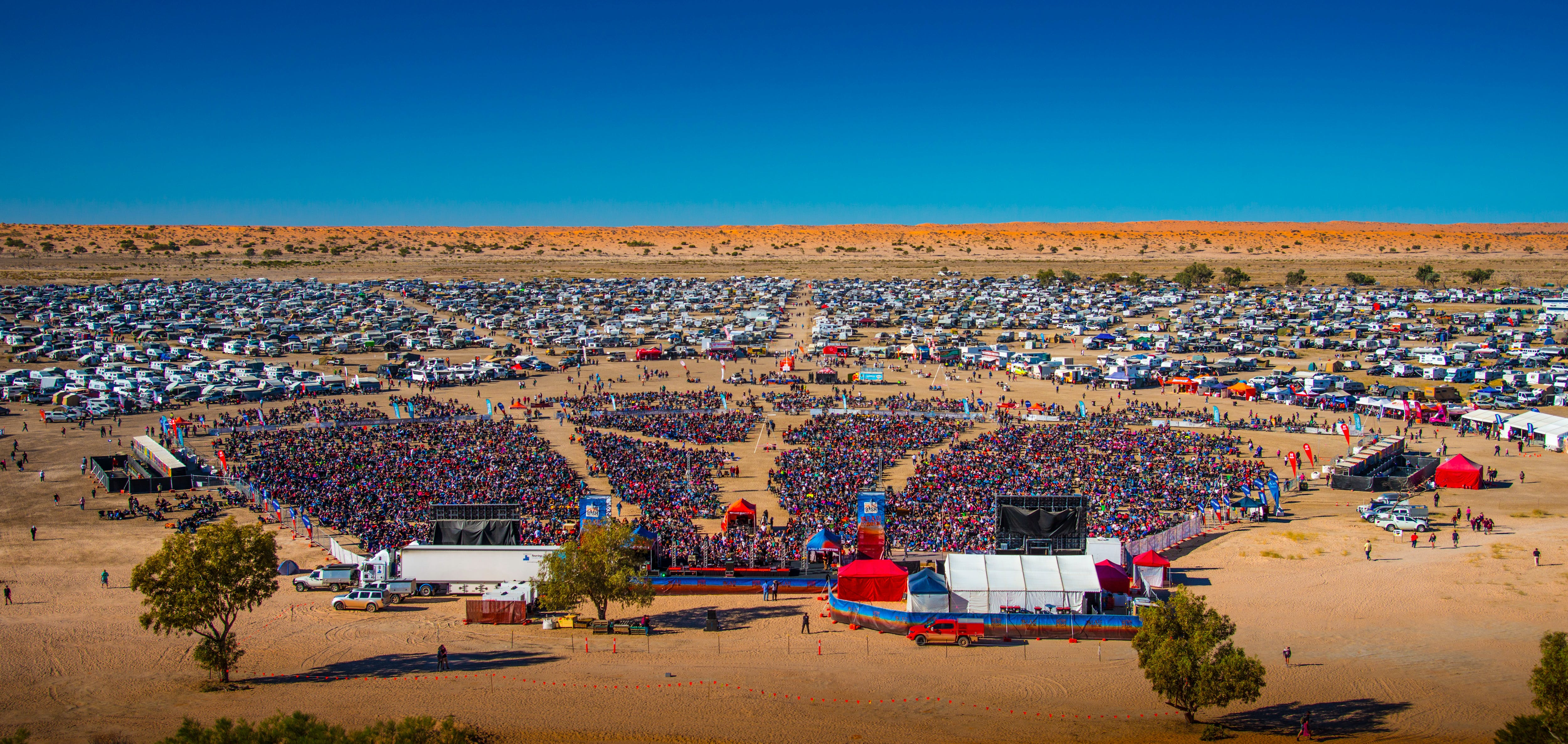 Birdsville Big Red Bash - Stayed