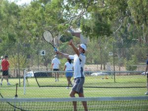 Corowa Easter Lawn Tennis Tournament - Stayed