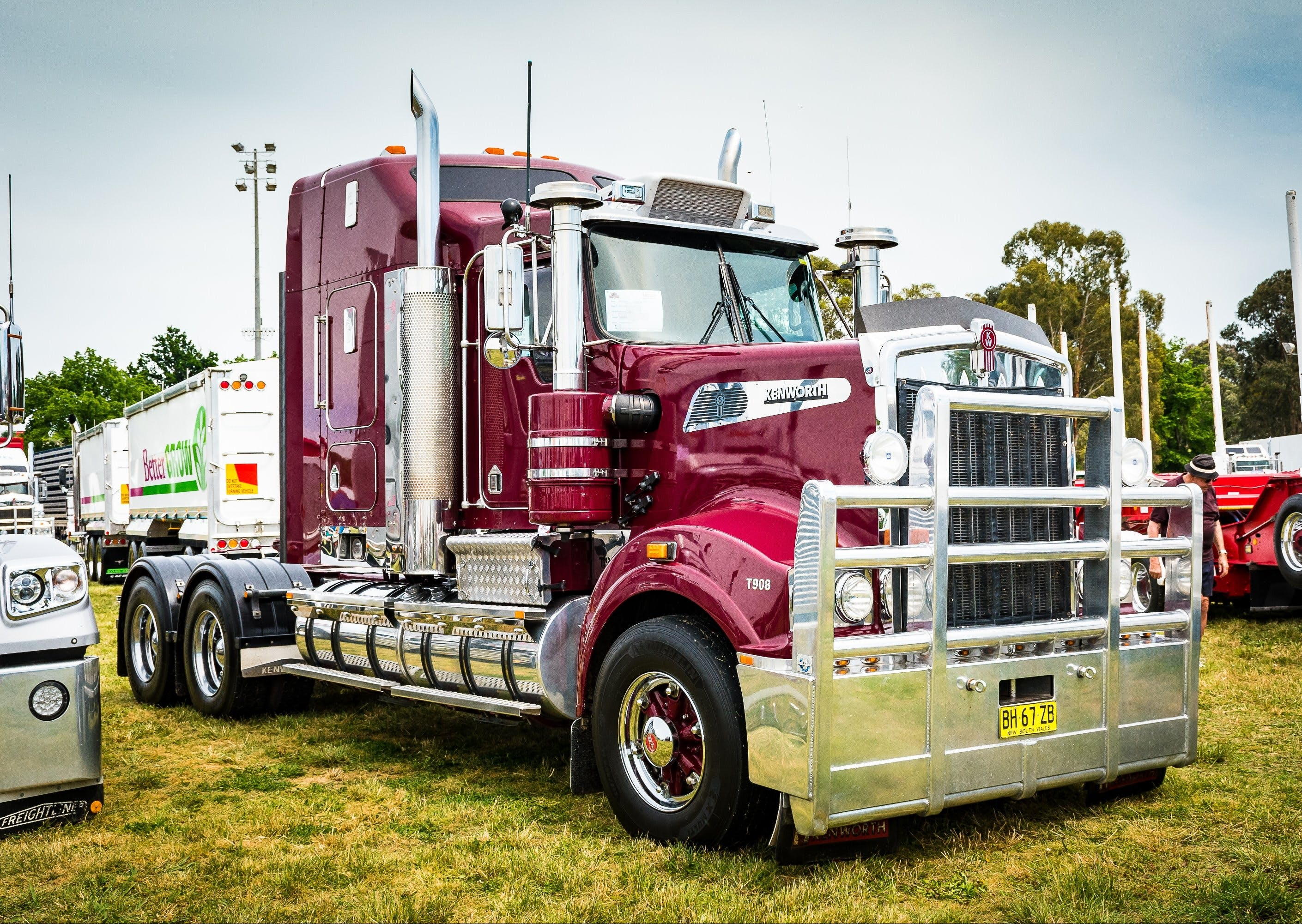 Dane Ballinger Memorial Truck Show - Stayed