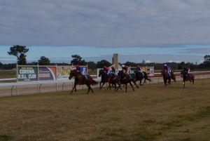 Corowa Horseraces - Stayed