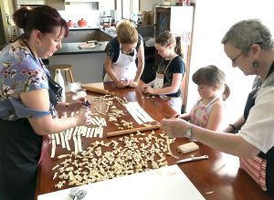 Kids Pasta Making Class - hands on fun at your house - Stayed