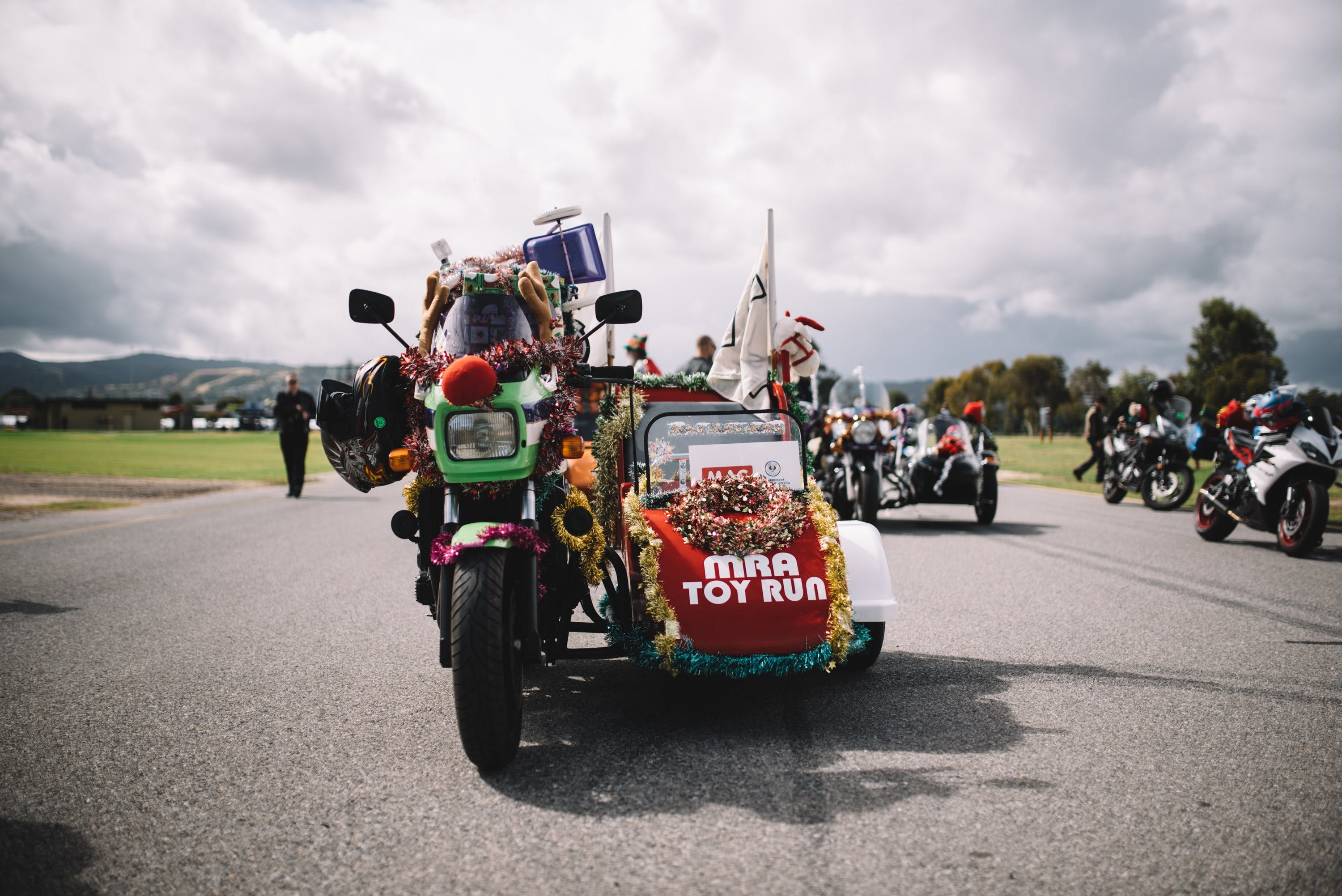Motorcycle Riders' Association of South Australia Toy Run - Stayed