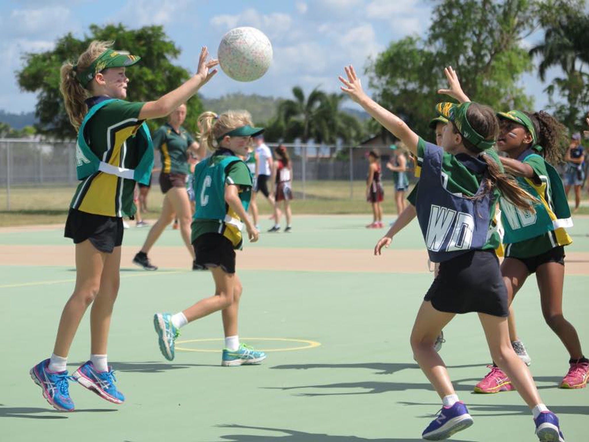 Burdekin Junior Netball Carnival - Stayed