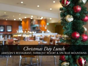 Christmas Day Buffet Lunch at Jamison's Restaurant - Stayed