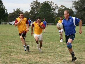 Veterans Touch Footy Carnival - Stayed