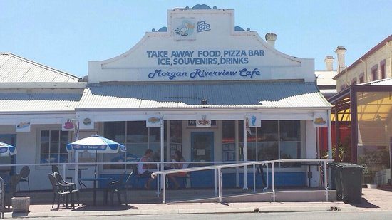 Morgan Riverview Cafe  Takeaway - Stayed